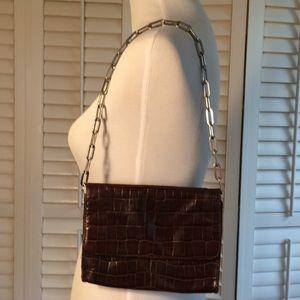 The Limited Leather Shoulder Bag